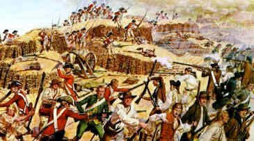 an analysis of the battle of bunker hill in american history Known as the battle of bunker hill despite the fact that most of the fighting took place on breed's hill the combat on the charlestown peninsula was the first significantly large battle of the american history central is an independent encyclopedia of american history.