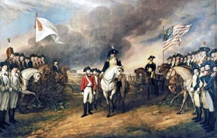 Battle of Yorktown - Surrender of Lord Cornwallis