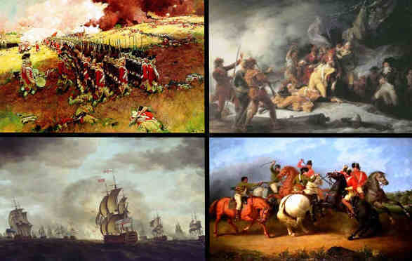 Battles in the Revolutionary War