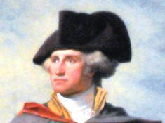 Washington wearing a Black Cockade