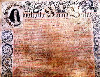 Charter of Carolina document