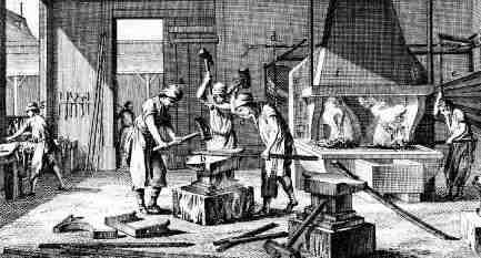 What were the industries of the Middle Colonies?