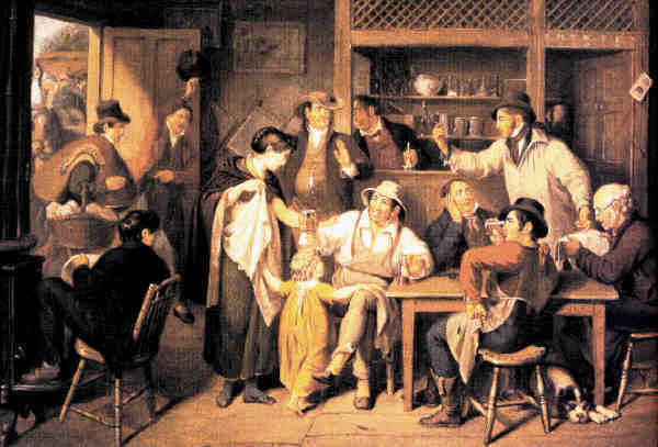 Colonial Trades - Tradesmen in a tavern