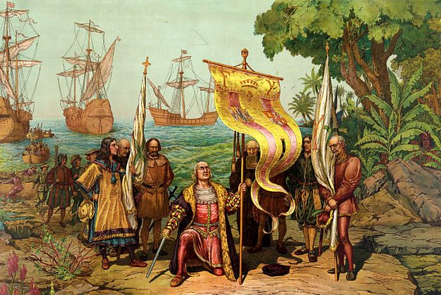 christopher columbus finding america
