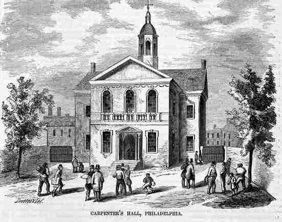 Continental Presidents - Carpenter's Hall