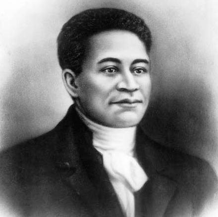 Picture of Crispus Attucks who was killed during the Boston Massacre