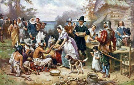 The Plymouth Colony and the First Thanksgiving