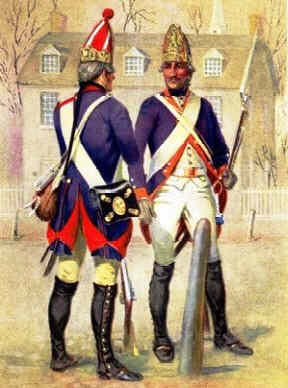 The Redcoats - Soldiers and Mercenaries