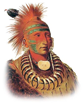 What native American tribes used war paint?  Native American Warrior Symbols