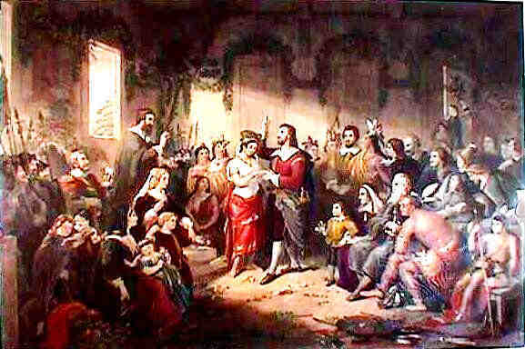letter from jamestown to england A letter home: the reasons for and the jamestown colony an ample vent in time to come of the woollen cloths of england, especially those of the coarsest.