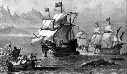 Image result for ferdinand magellan reaches the pacific ocean
