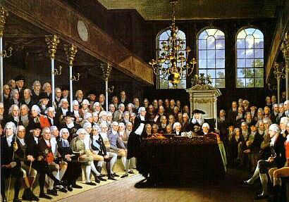 Parliament in the 1700's