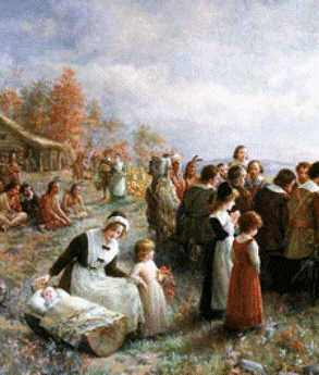 Puritans and their families