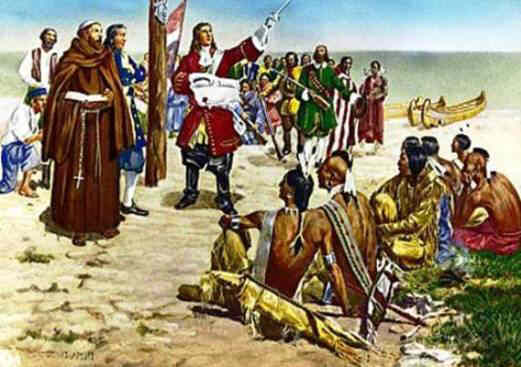 an analysis of european influences to the native indians of america during the exploration age Free essay: early european exploration and political relations between the native americans and the europeans the age of european exploration.