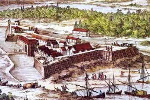 Ribault Massacre at Fort Caroline, Florida
