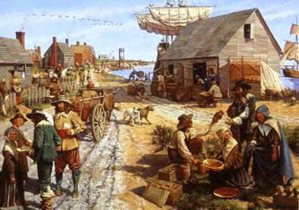 Colonial Life in the first 13 Colonies